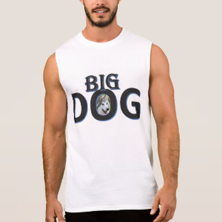 Big Dog Sleeveless T-shirts