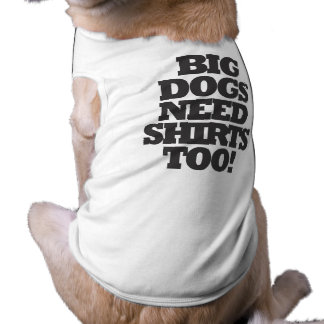 Big Dogs dog t-shirt