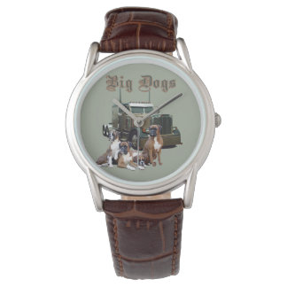 Big Dogs Trucker's Watch