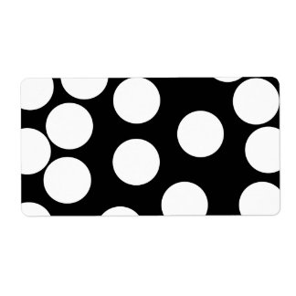 Big Dots in Black and White.