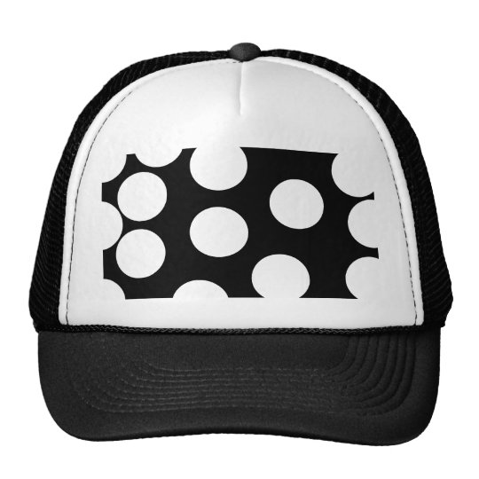Big Dots in Black and White. Cap