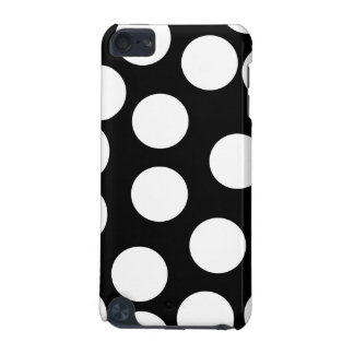 Big Dots in Black and White. iPod Touch (5th Generation) Covers