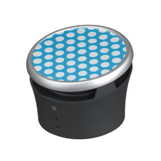 Big Dots on Blue Design Speaker