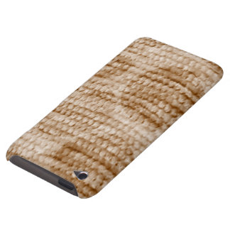 big dotted chenille,beige iPod touch covers