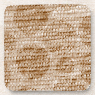 big dotted chenille,beige drink coaster