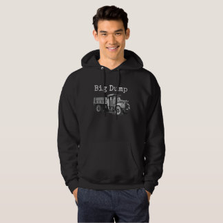 """Big Dump"" humorous men's hoodie sweatshirt"