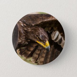 big eagle 6 cm round badge
