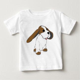 Big Eared Basset Dog Baby T-Shirt
