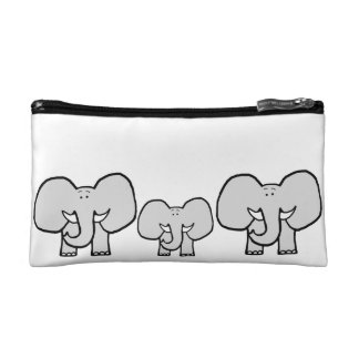 Big Ears the Elephant Pattern Pencil Case Makeup Bag