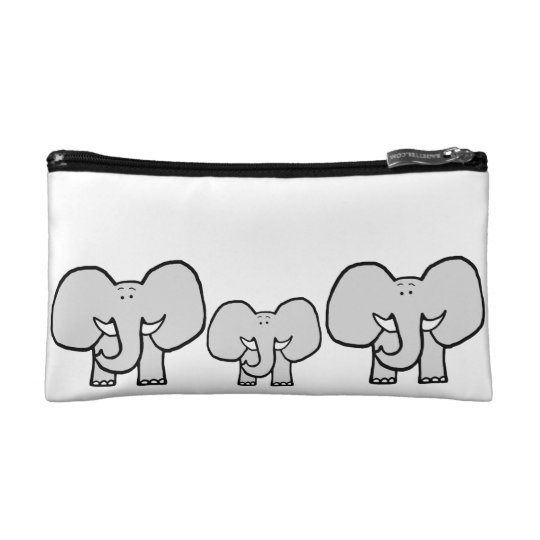 Big Ears the Elephant Pattern Pencil Case Makeup
