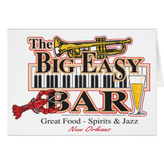 Big-Easy-Bar-3-[Converted] Greeting Card