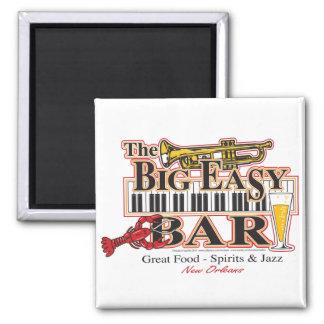 Big-Easy-Bar-3-[Converted] Square Magnet