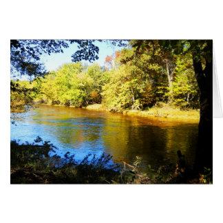 Big Eau Pleine River Card