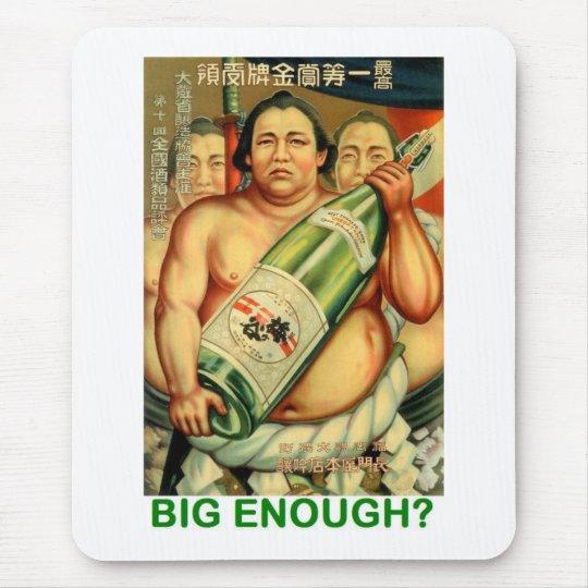 BIG ENOUGH MOUSE MAT