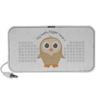 Big Eye Owl iPod Speakers
