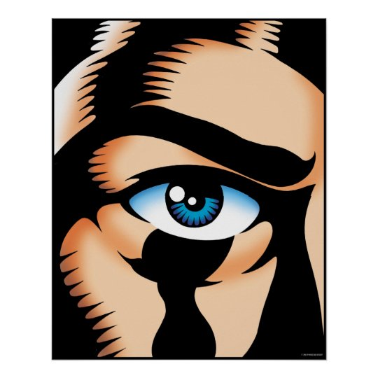 Big Eye Poster