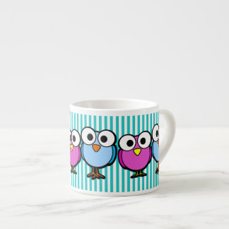Big-eyed Birdies Espresso Mug
