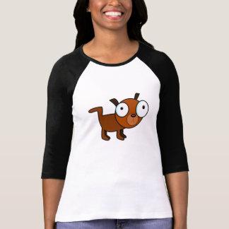 Big-Eyed Cartoon Dog T-Shirt