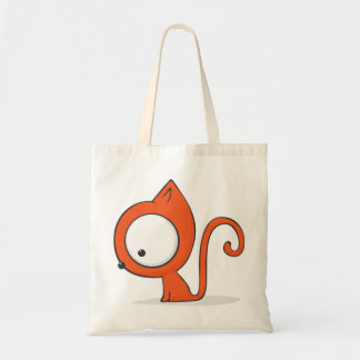 Big-eyed cat canvas bags