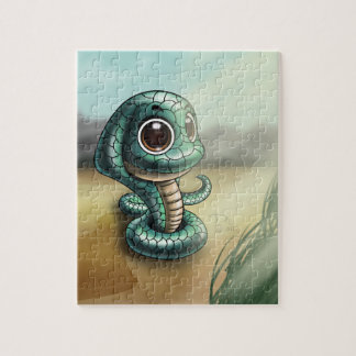 Big-Eyed Cobra Cutie 8x10 Puzzle with Gift Box