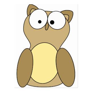 Big Eyed Owl Post Cards