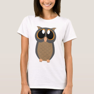 Big-Eyed Owl T-Shirt