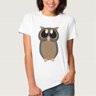 Big-Eyed Owl T Shirts