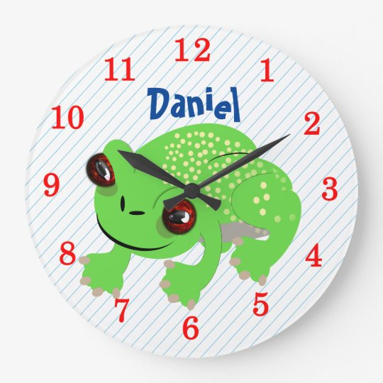 Big Eyed Spotted Green Cartoon Frog Personalised Large