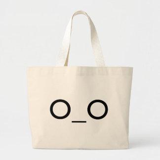 big eyes canvas bag