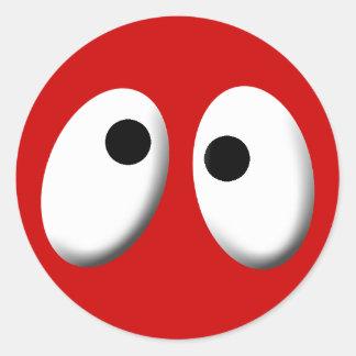 Big Eyes Classic Round Sticker