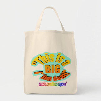 BIG F-ing Deal Grocery Tote Bag