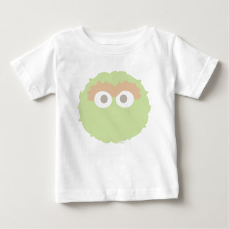 Big Face Baby Oscar the Grouch Baby T-Shirt