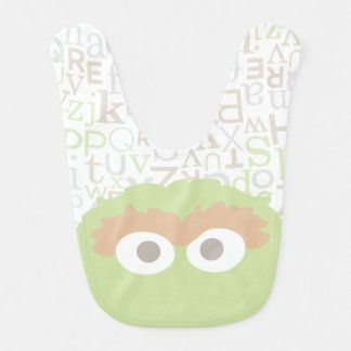 Big Face Baby Oscar the Grouch Bib