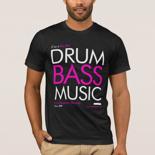 Big Fan Drum and Bass Music T-Shirt