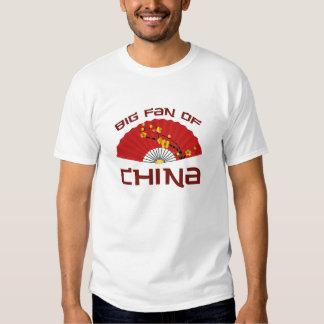 Big Fan Of China Tee Shirt
