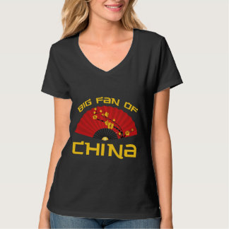 Big Fan Of China Tee Shirts