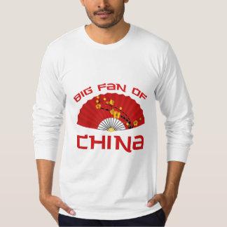 Big Fan Of China Tshirts