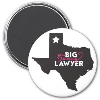 Big Fancy Texas Lawyer Magnet