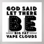 Big Fat Clouds Premium Poster