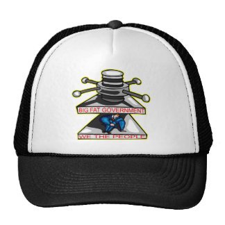 Big Fat Government Is Crushing We The People Trucker Hats