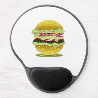 Big Fat Juicy Hamburger Gel/Mousepad Gel Mouse Pad