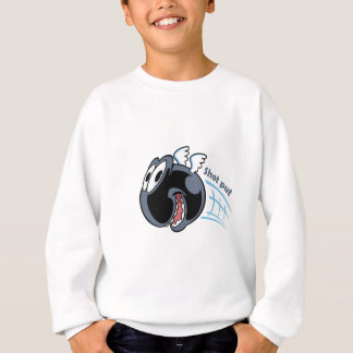 big fat shot put bird sweatshirt
