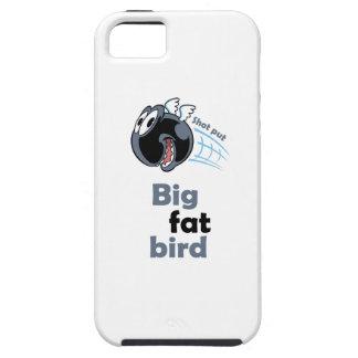 Big fat shot put bird tough iPhone 5 case
