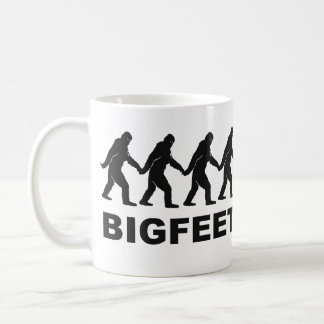 Big Feet Bigfoot Coffee Mug