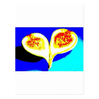 Big Fig Heart Postcard