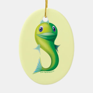Big Fish Christmas Ornament
