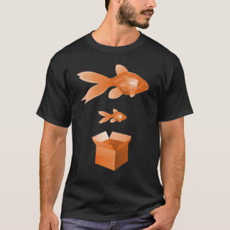 Big Fish Little Fish Adult T-Shirt