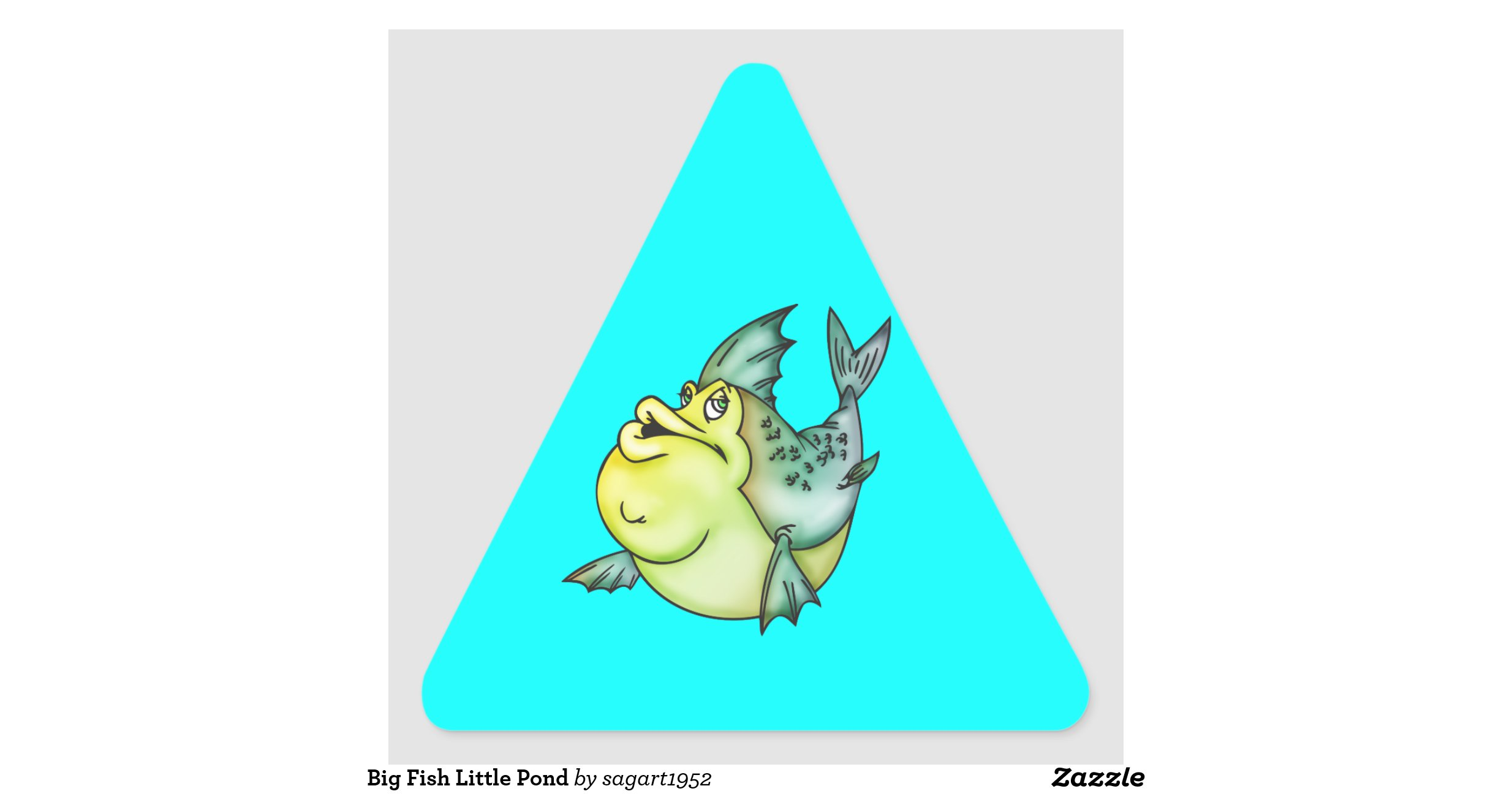 Big fish little pond zazzle for Big fish little pond