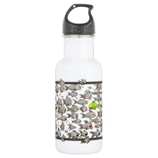 Big Fish Waterbottle 532 Ml Water Bottle