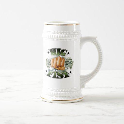 Big Fist Beer Stein Coffee Mug